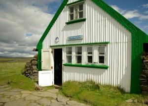 Refuge de montagne en Islande