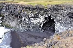 Orgues basaltiques en Islande