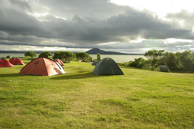 Camping en Islande